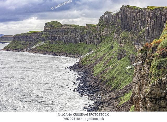 Kilt Rock, Isle of Skye, Scotland, United Kingdom
