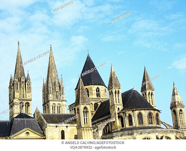 Caen, Abbaye aux Hommes, Men's Abbey, Saint Etienne, Normandy.