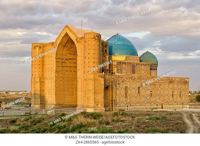 Khodja Ahmet Yasawi Mausoleum, Unesco World Heritage Site, Turkistan, South region, Kazakhstan