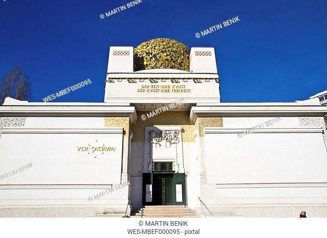 Austria, Vienna, View of secession memorial