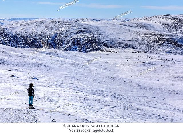 Kangerlussuaq, Artic Circle, Greenland, Europe
