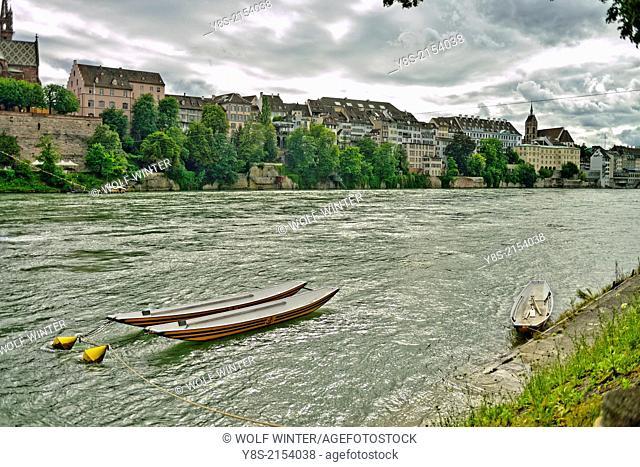 Boats, Basle, Switzerland