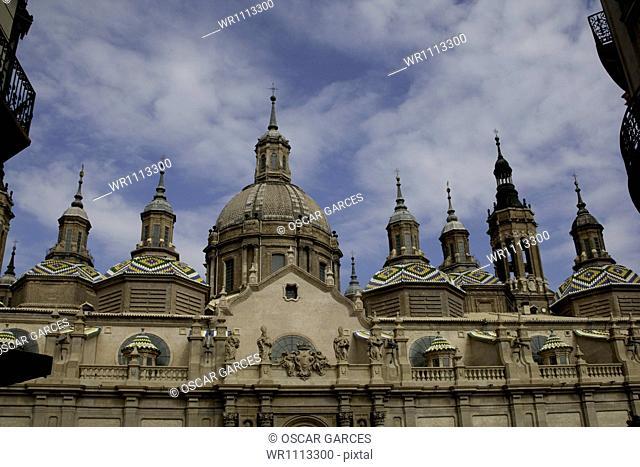 Basilica of Nuestra Señora of Pilar, Saragossa, Aragon, Spain, Western Europe