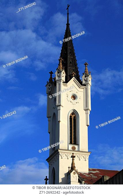 Hungary, Veszprém, Regina Mundi, roman catholic church,