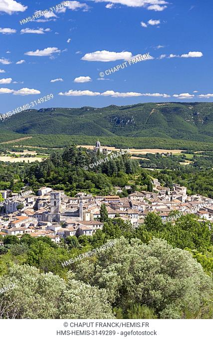 France, Alpes de Haute Provence, parc naturel regional du Luberon, Forcalquier