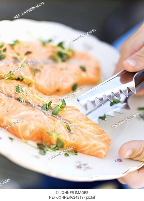 Salmon, Sweden