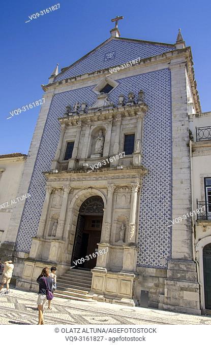 Misericordia church in the Republic Square in Aveiro, Beira Litoral, Portugal