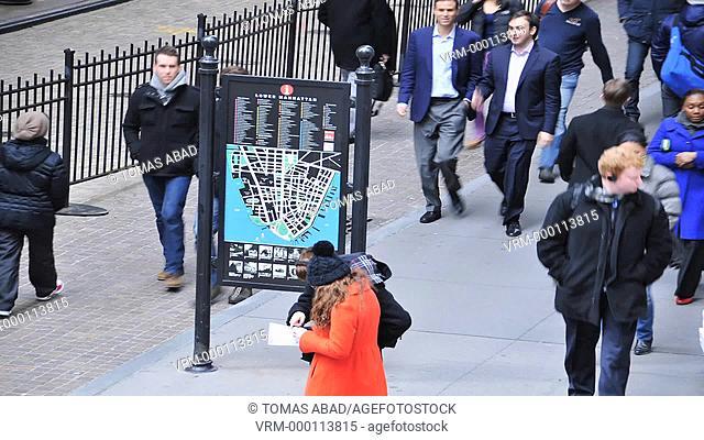 Wall Street, Manhattan, Financial District, Downtown, New York City