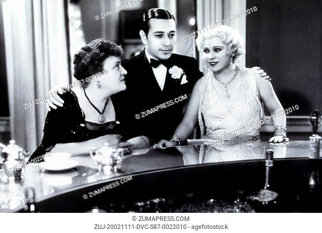 1932, Film Title: NIGHT AFTER NIGHT, Director: ARCHIE MAYO, Studio: PARAMOUNT, Pictured: ARCHIE MAYO, GEORGE RAFT, ALISON SKIPWORTH
