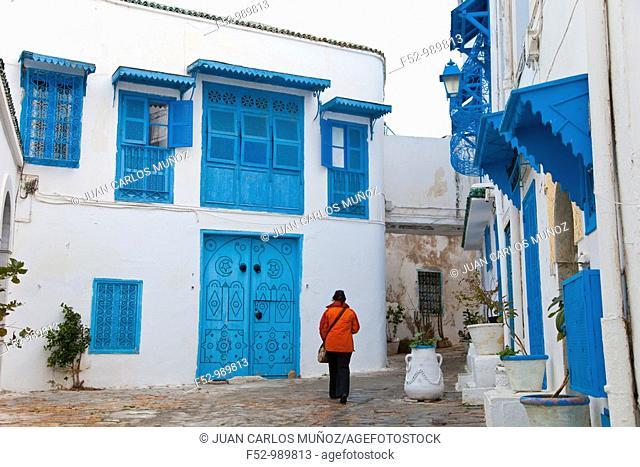 Sidi Bou Said Village. Tunisia. Africa