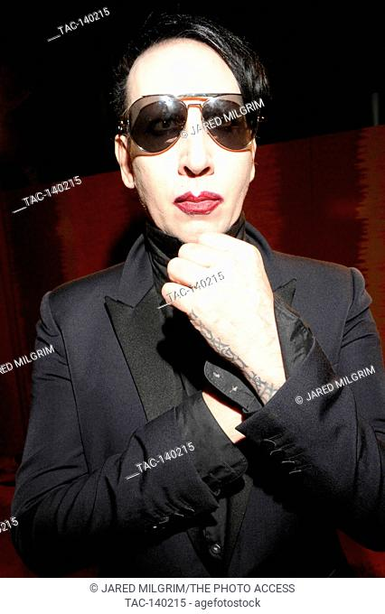 Marilyn Manson portrait at HBO's 2015 Emmy After Party at the Pacific Design Center on September 20th, 2015 in Los Angeles, California