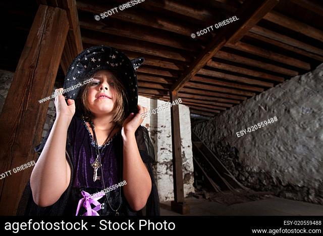 Bratty Little Child Witch