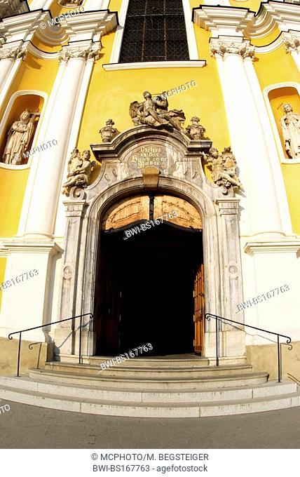 Basilica Mariatrost, entrance, Austria, Styria, Graz