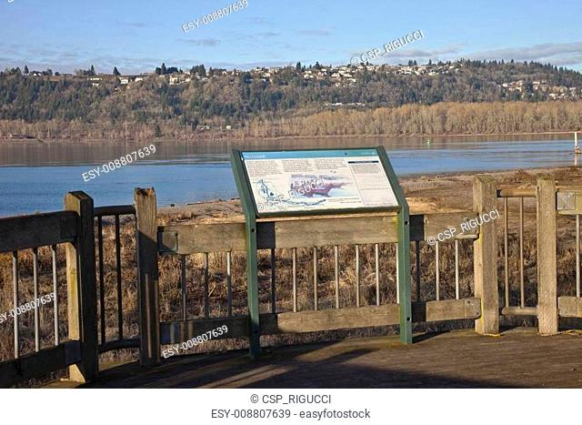 Columbia River and Oregon state parks