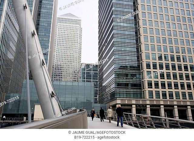Canary Wharf, London. England, UK
