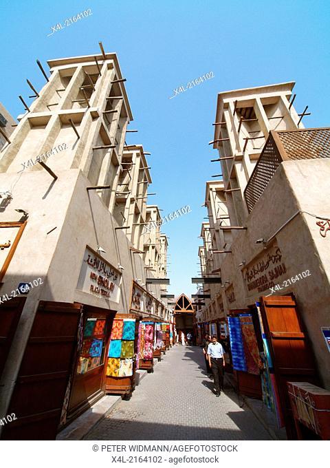 Dubai, Bur Dubai, Old market, Old Souk, United Arab Emirates