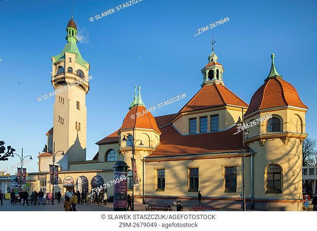 Evening in Sopot, Pomerania, Poland
