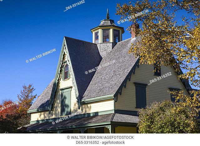 Canada, Prince Edward Island, Tyne Valley, Green Park Shipbuilding Museum, Historic Yeo House, former home of shipbuilder james Yeo Junior
