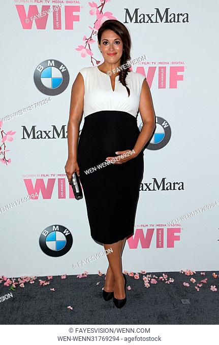 Women In Film 2017 Crystal + Lucy Awards® presented by Max Mara and BMW Featuring: Angelique Cabral Where: Beverly Hills, California