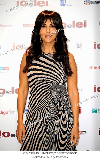Sabrina Ferilli; ferilli; actress; celebrities; 2015; rome; italy; event; photocall ; io e lei