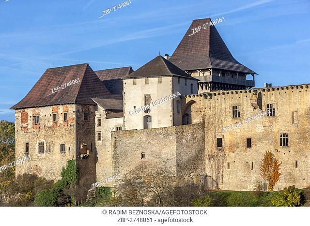 Czech Republic, Lipnice Castle, one of the mightiest Czech aristocratic castles, Vysocina region
