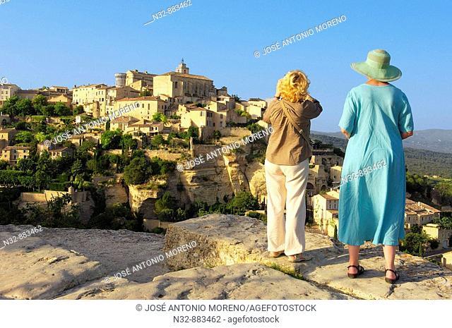 Gordes. Vaucluse, Provence-Alpes-Côte d'Azur, France
