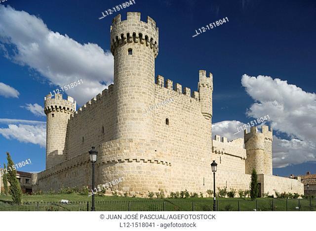 Castle, Olmillos de Sasamon, Burgos province, Castille-Leon, Spain