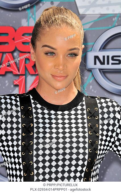 Jasmine Sanders at the 2016 BET Awards held at the Microsoft Theater in Los Angeles, California on Sunday, June 26, 2016