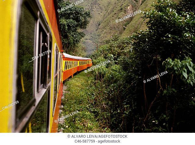 Train to Machu Picchu. Peru