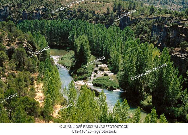 Valtablado del Río, Alto Tajo Natural Park. Guadalajara province. Spain