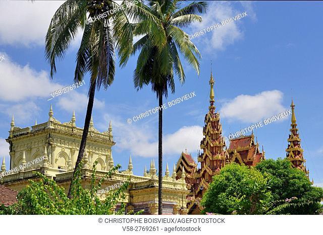 Myanmar, Mon State, Go Nut village