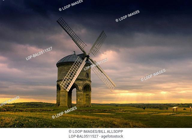 A view toward Chesterton windmill