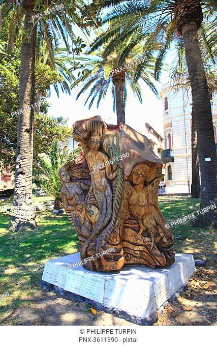 """Italia, Calabria, Reggio di Calabria. """"Le Sirene dello Stretto"""" by Edmonde Leone"""