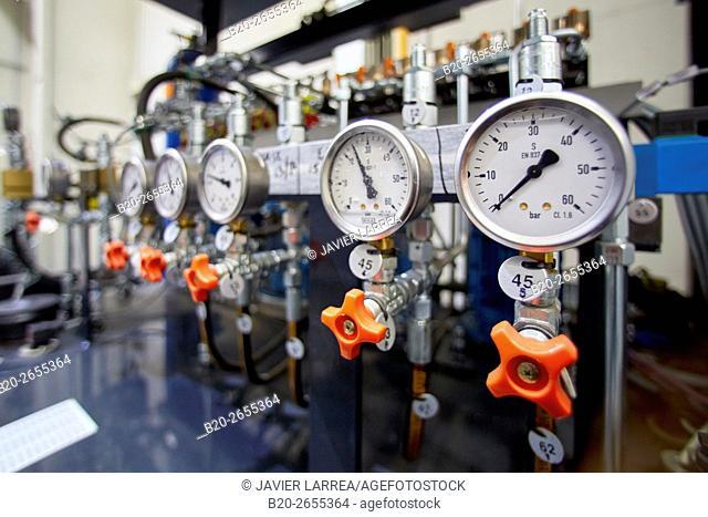 Pressure valves. Machining Center. CNC. Vertical lathe. Machine Tools Company. Gipuzkoa . Basque Country. Spain. Europe