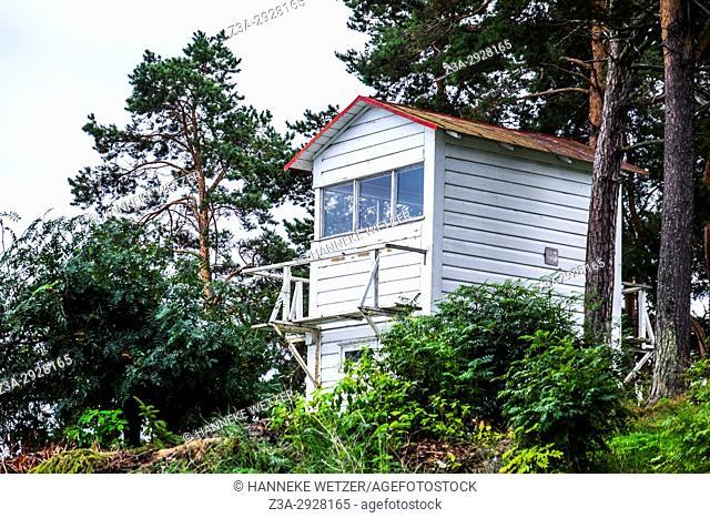 Watch house at the Käsmu Maritime Museum, Lahemaa National Park, Estonia