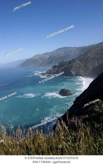 California Coastline along Pacific Coast Highway