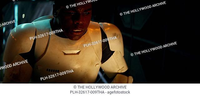 John Boyega in Star Wars: Episode VII - The Force Awakens (2015) © Lucasfilm 2015