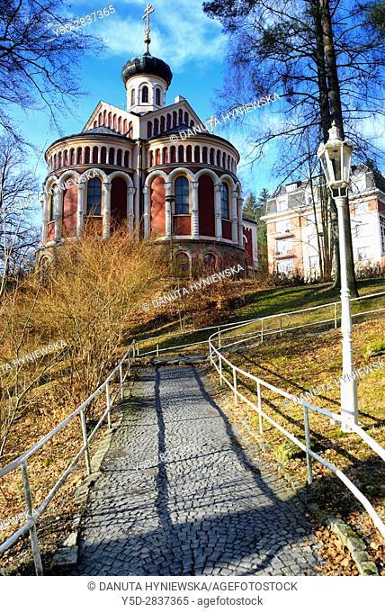 Ortodox Church, Mariánské Lázne, Karlovy Vary Region, Bohemia, Czech Republic