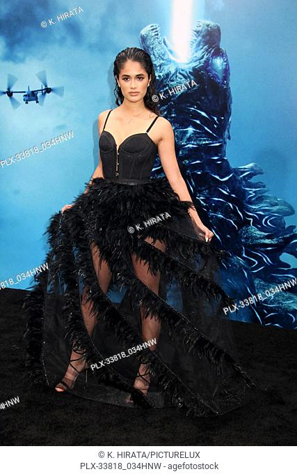 """Danube Hermosillo 05/18/2019 """"""""Godzilla: King of the Monsters"""""""" Premiere held at the TCL Chinese Theatre in Hollywood, CA. Photo by K"""