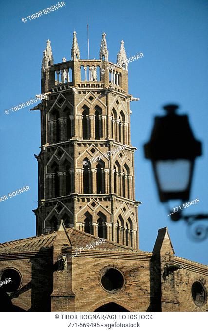 France, Languedoc, Toulouse, Couvent des Jacobins Convent