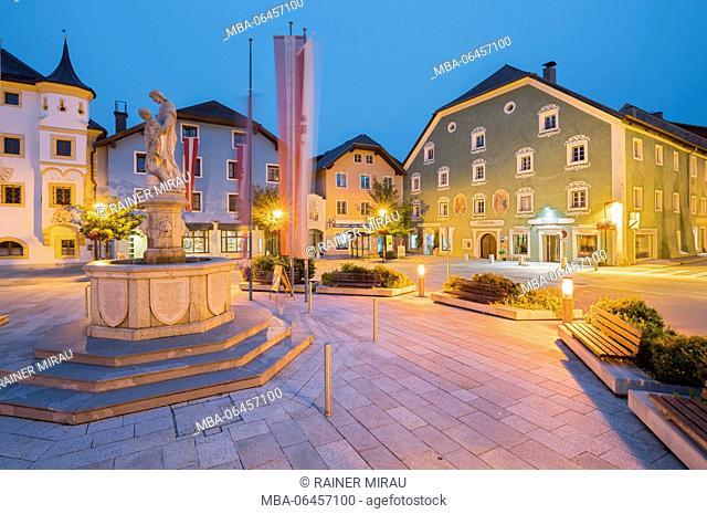 Marketplace Tamsweg, Lungau, Salzburg, Austria