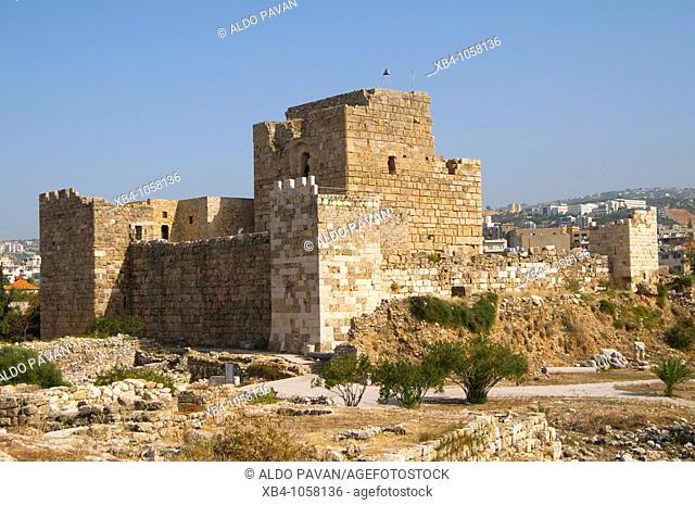 Crusaders Castle, Byblos Jbail, Lebanon