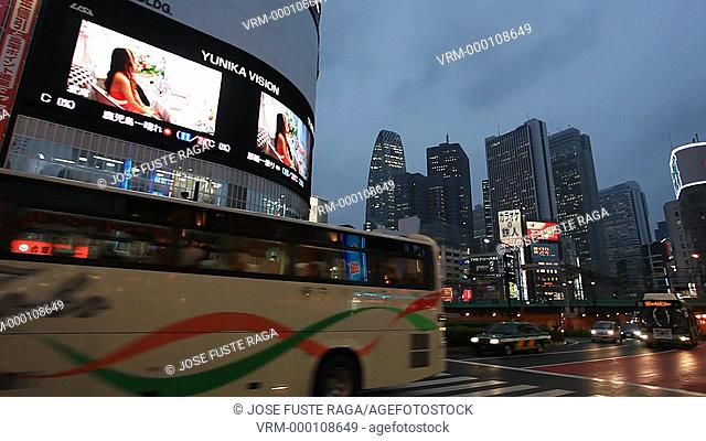 Japan , Tokyo City , Shinjuku District, Shinjuku Avenue