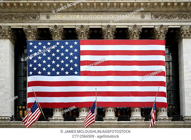 New York City, Manhattan, New York Stock Exchange
