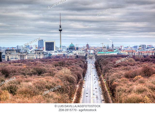 What Central Park is to New Yorkers and Hyde Park to Londoners, the same holds true in regard to what Tiergarten - the green lung of the metropolis- represents...