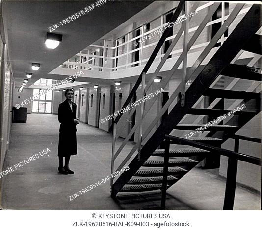 May 16, 1962 - ?Secure? Borstal for persistent girl offenders ? Today the first inmates will arrive at a new ?300,000 Borstal for persistent girl offenders from...