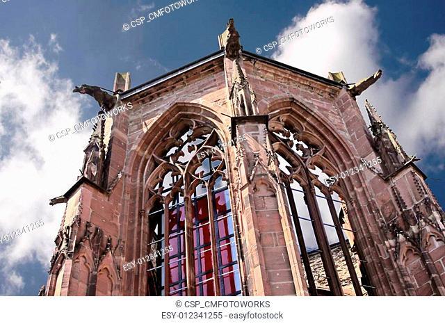 Ruin of Werner chapel