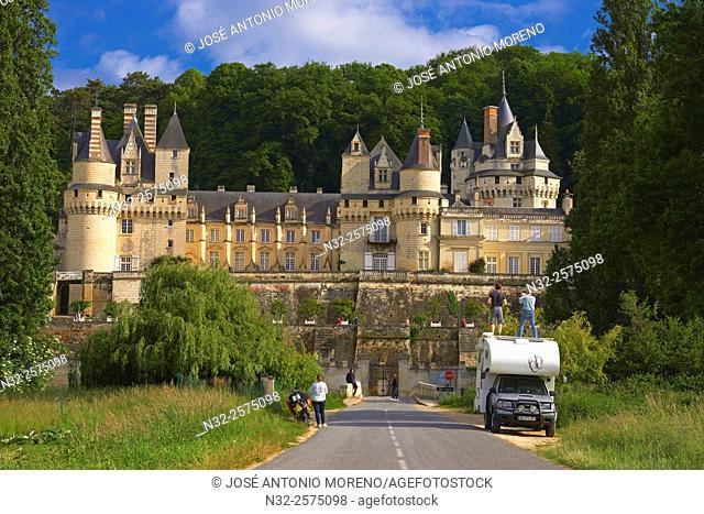 Rigny-Usse, Castle, Chateau de Usse, Usse Castle, Indre-et-Loire, Pays de la Loire, Loire Valley, UNESCO World Heritage Site, France