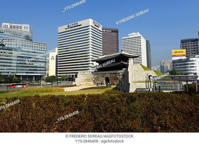 Sungnyemun,Nandaemun,Great South Gate,Seoul,South Korea
