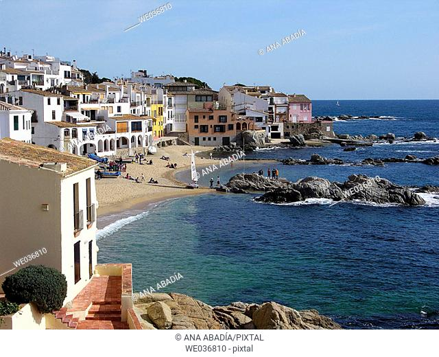 Calella de Palafrugell. Costa Brava, Girona province, Catalonia, Spain